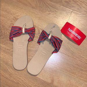 NWT Havaianas You Saint Tropez Sandals